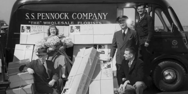 Pennock Company Delivery Truck
