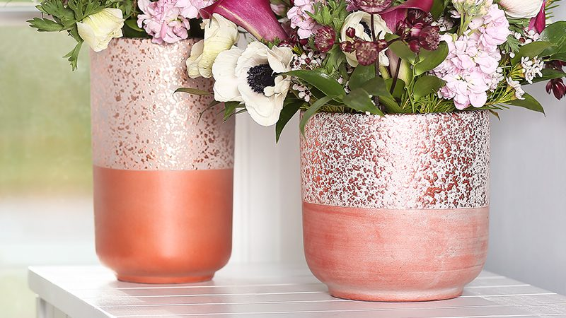 Cosmo Pot and Vase